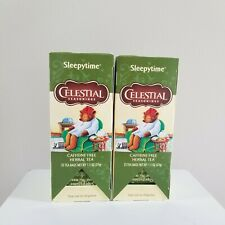 Celestial Seasonings Sleepytime Tea Individual sealed 2 boxes (50 bags) Herbal