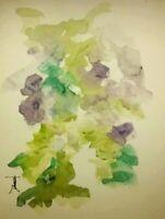 ORIGINAL Floral Watercolor  painting