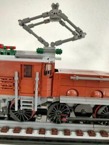 Lego RC Eisenbahn 10277 Krokodil MOC Lückenfüller Steine zum Schließen der Lücke