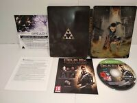 Deus Ex Mankind Divided Edition Day One Steelbook XBOX ONE PAL Fr Comme neuf