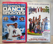 2x DANCING Video Tapes VHS PAL Darrin Henson Dance Moves/Moving n Grooving