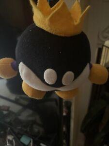 King Bob Omb Plush (Super Mario 64, Rare, No Tag, Banpresto)