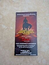 Clinton Anderson Walkabout Tour 2011 Used Ticket Stub Down Under Horsemanship