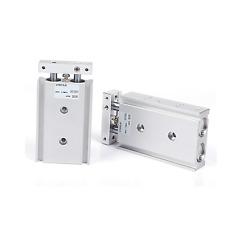 SMC CXSM32-10  Pneumatic Dual Rod Cylinder Double Acting Type New ✦KD