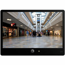 """20"""" Public View Security Monitor With Built-In Camera, Mounting Bracket, Remote"""