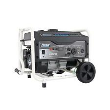 pulsar 5250w portable gas powered generator with rv port pg5250