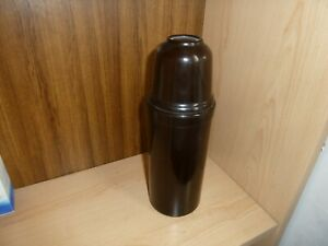 Vintage Brown Bakelite  Thermos 1925 Flask  Cork Stopper and cup