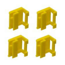 4 Rocker Panel Moulding Clips - Yellow Genuine BMW For: BMW E93 E92 E90 E60