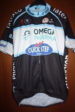 Maglia Radtrikot Shirt Maillot Ciclismo Omega Pharma Quickstep Giro Tour France