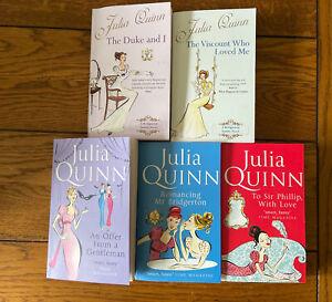 Bridgerton Book Series Books 1-5 Julia Quinn
