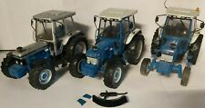 Three Univeral Hobbies Tractors Ford 7610 Ford 7810 & Ford 7810