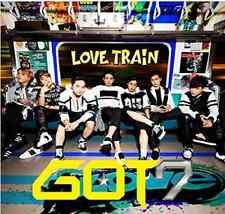 KPOP GOT7 LOVE TRAIN type B (CD+DVD) w/photo card plus bonus postcard