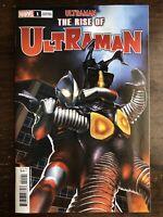 Ultraman: The Rise of Ultraman #1 (Marvel, 2020) 1:25 Yuji Kaida Variant!