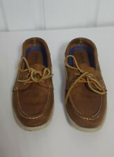 Mens Sperry Tan Top Sider Authentic Original 2-Eye Boat Shoes Size 11M Sts12338