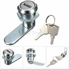 Letterbox Cam Lock File Drawer Arcade Mailbox Cupboard Cabinet Locker + 2 Keys