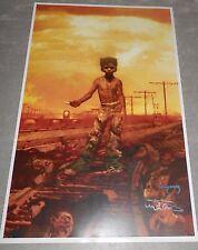 Young Wolverine Arthur Suydam Signed Art Print Poster Origins Weapon X Autograph