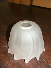 Vetro di ricambio bianco paralume per applique lampadari in ferro e ottone