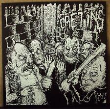 "CRETINS s/t 7"" NEW hardcore Vinyl Conflict w/download"