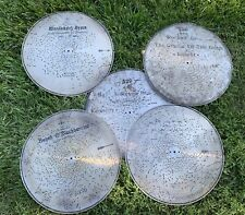 Antique 1896-1900 Stella Music Box Metal Disc, 17 1/4�, Lot of 5 different!