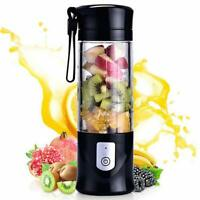 Portable Mini Travel Fruit USB Juicer Cup, Personal Small Electric Juice Mixer