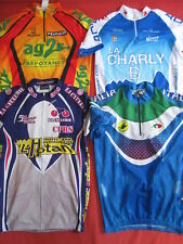 Lot 4 Maillot Cycliste Charly B Nice + AG2R + Castelli Italie + CPRS - L