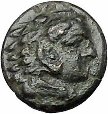 PERGAMON in MYSIA 310BC Hecules Athena Authentic Ancient Greek Coin i48662