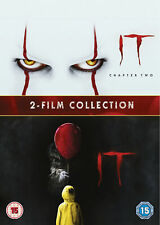 IT Chapter One & Two 1&2 (DVD) James McAvoy, Jessica Chastain, Bill Hader