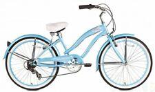 "Micargi 7 spd 26"" Rover Women beach cruiser bicycle bike Baby Blue"