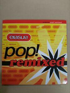 Erasure - Pop! Remixed - promo CD