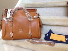Dooney & Bourke Florentine Vachetta Leather Medium Satchel in NATURAL $398