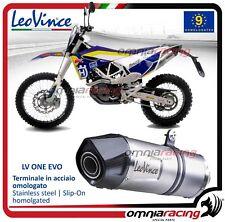 Leovince LV ONE Terminale scarico omologato HUSQVARNA 701 Enduro 2015>2017