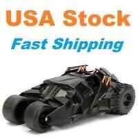 "Batman Batmobile Dark Knight, 2008, Jada, Diecast Model Toy Car, 5"", 1/32 scale"