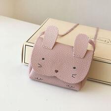 New Children Kids Girls Lovely Rabbit  Mini Small Purse Cross Body Bag Wallet