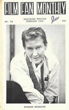 Film Fan Monthly 80 February 1968 Burgess Meredith Rosalind Ivan