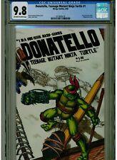 Donatello Teenage Mutant Ninja Turtles 1 CGC 9.8 mint OWTW PAGES 1986 WRAPAROUND