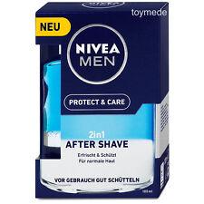 Nivea Men 2in1 AFTER SHAVE Protect+Care 100ml Pflege+Frische +Aloe Vera Rasur