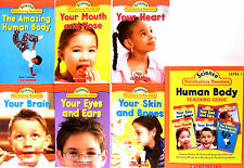 Science Vocabulary Readers Set Human Body & Teacher's Guide 7 Paperback Set