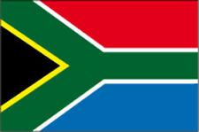 ADESIVO BANDIERA FLAG SUD AFRICA DECAL STICKER