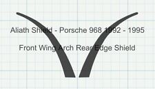 Porsche 968 Pair Front Wing Arch Clear Stone Guard Protection Decals Foils.