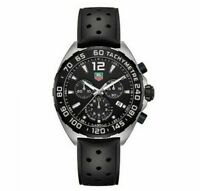 TAG HEUER CAZ1010.FT8024 Formula One Black Rubber Strap Chronograph Men's Watch