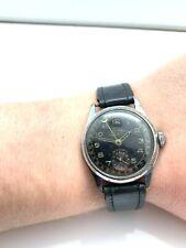 Military Aro German Army WW2 Manual Wind Wristwatch Wehrmacht *Running*