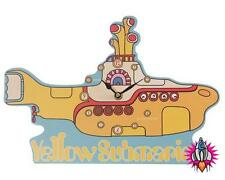 NEW OFFICIAL THE BEATLES YELLOW SUBMARINE PICTURE WALL MANTEL / CLOCK