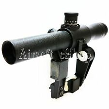 Airsoft 4x26 Red Illuminated Scope For VSS Series Airsoft Rifle SEAF45