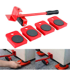 New listing 5Pcs Furniture Mover Lifter Easy Slides Transport Lifting Heavy Duty Tool Set