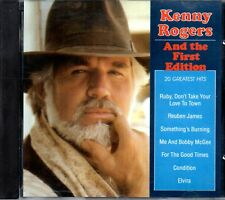 Kenny Rogers And The First Edition ‎– 20 Greatest Hits CD