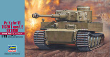 Hasegawa Pz. Kpfw. Vi Tiger I Ausf. E Hybrid NEW Model Kit