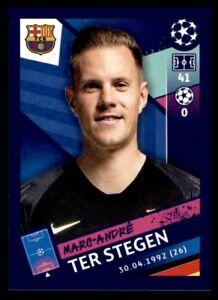 Topps Champions League 2018/19 - Marc-André ter Stegen FC Barcelona No. 7