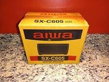 2 Aiwa Speakers, SX-R275 and 1 SX-C605 Surround Sound Speaker Set New In Box