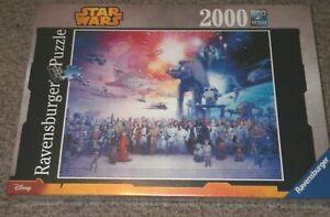 Ravensburger Disney Star Wars Universe 2000 Piece Puzzle New - Sealed Box 167012