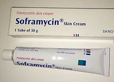 Soframycin Skin Cream - 30g (Pack of 1) Used for Burns,,Scalds,Wounds,Cuts etc.